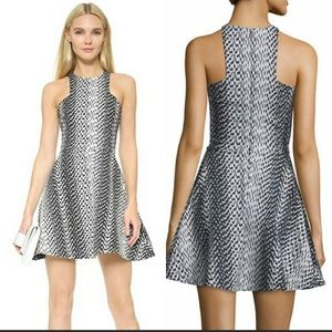 Elizabeth and James fit & flare sleeveless dress